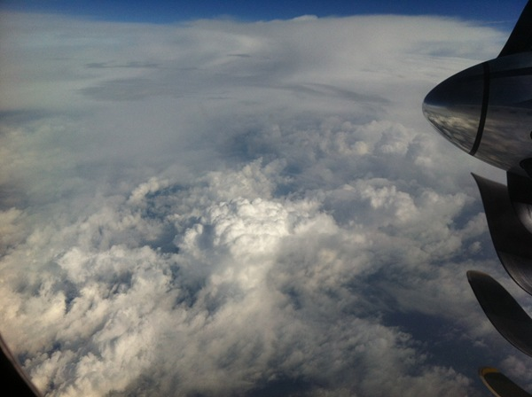 Imposante Wolkengebilde