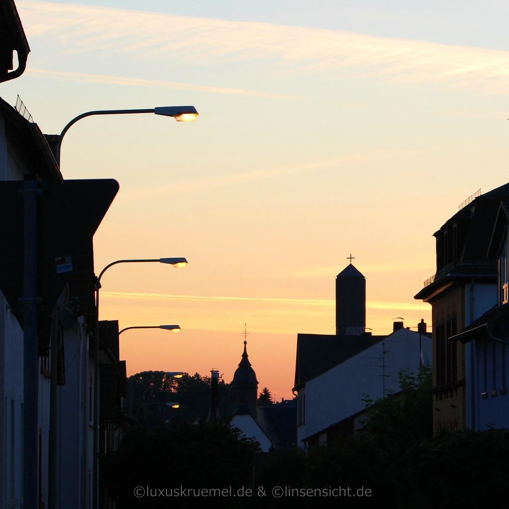 Kirchturm in Schwalbach am Taunus
