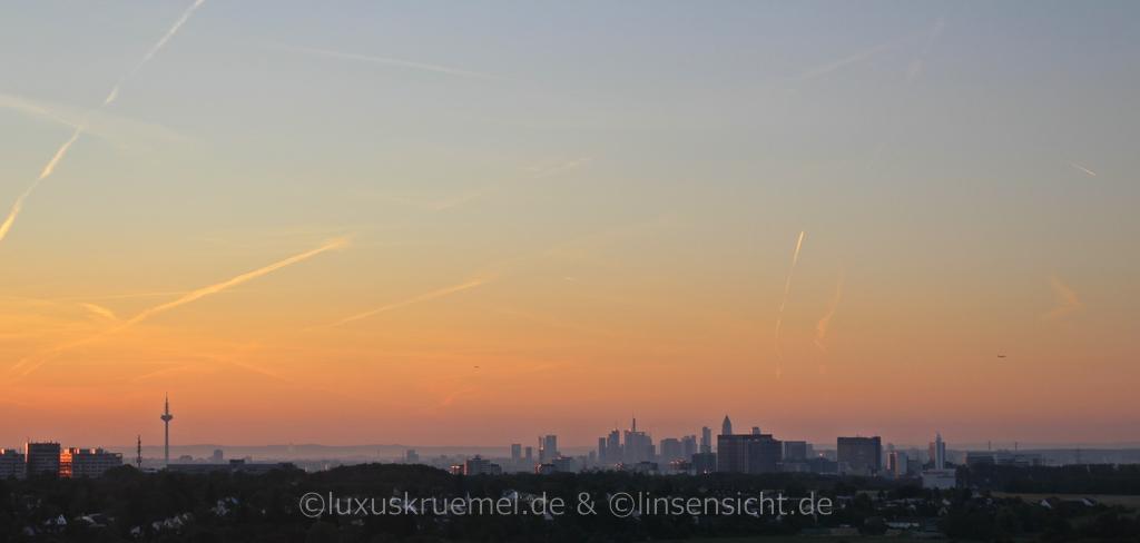 Frankfurt Skyline / Odenwald